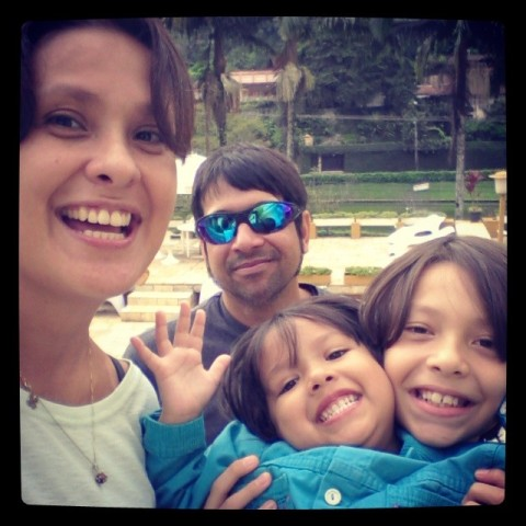 Ana e família