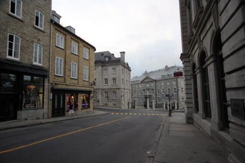 Andando por Vieux Quebec