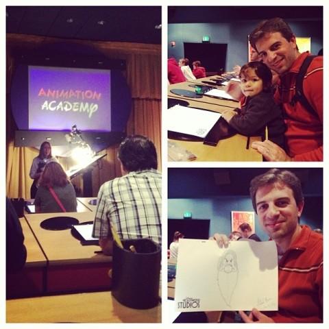 Desenhando na Animation Academy