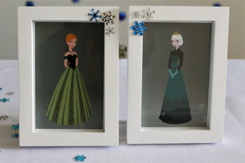 As fotos de Anna e Elsa