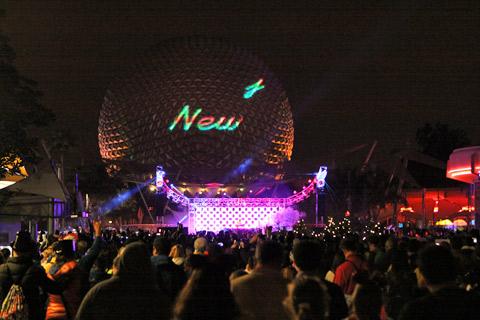 Festa de Ano Novo no Epcot