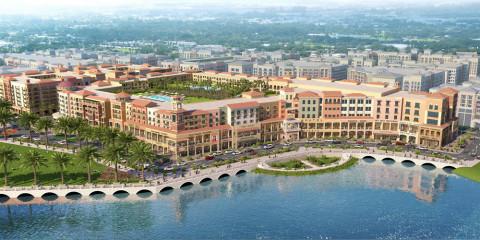 Seu apartamento em Orlando pode estar no complexo City Center West Orange (desenho do projeto)