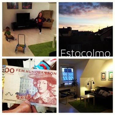 O apartamento em Estocolmo