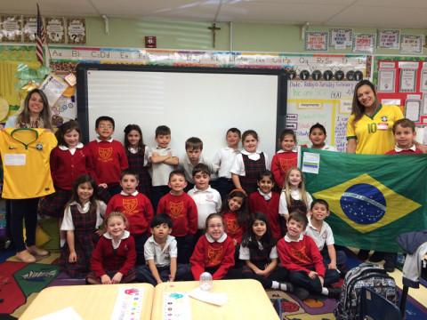 Apresentando o Brasil na escola dos meus filhos