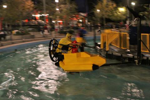 Aquazone na Lego Technic, não fomos