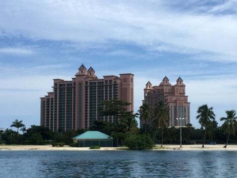 O Atlantis Resort em Nassau