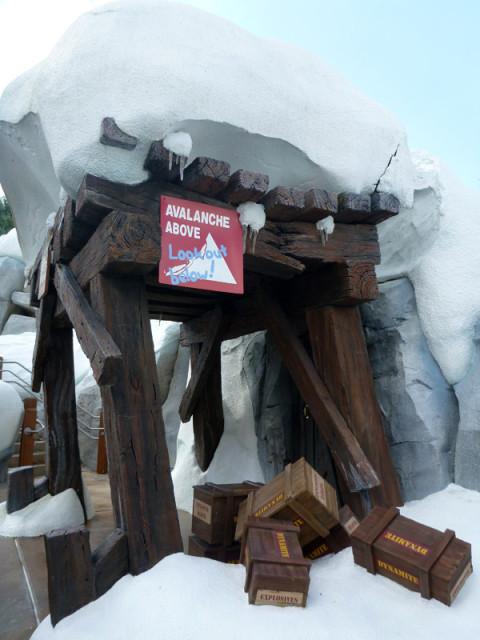 Cuidado com a avalanche!