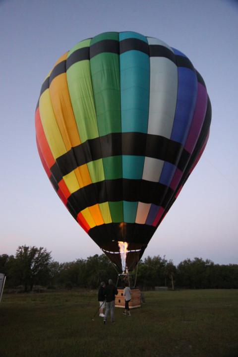 Estabilizando o balão