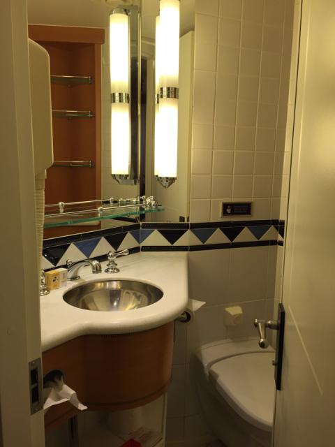Banheiro split: um lado