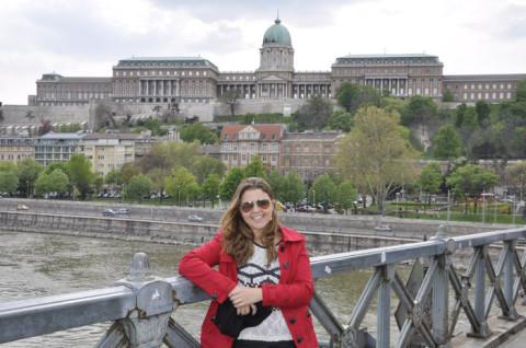 Eu e o Castelo de Buda