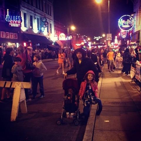 Beale Street em Memphis, a rua da música