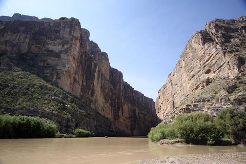 Santa Elena Canyon, grandioso