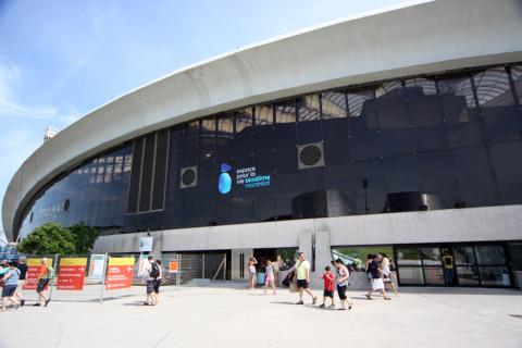 A entrada do Biodôme de Montréal