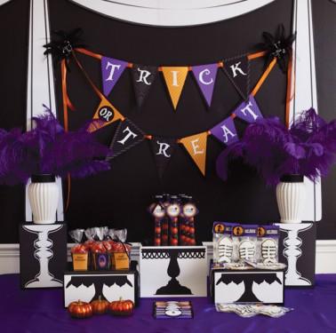 Black Cat Ball - Decoração de festa de Halloween