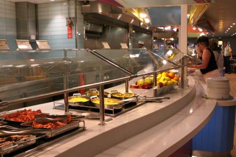 Buffet Cabana's no café da manhã