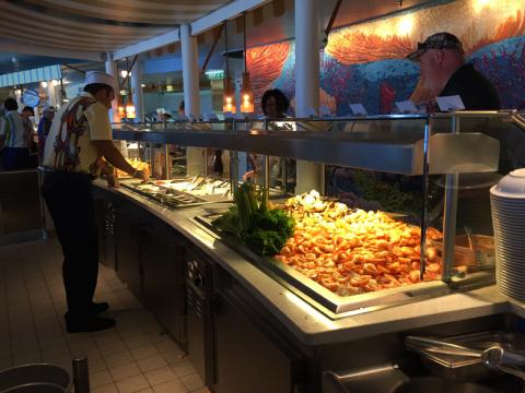 Cabana's, o buffet que tem uma super variedade de pratos