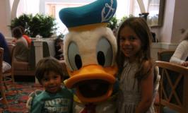 Café da manhã com personagens da Disney no Cape May Cafe