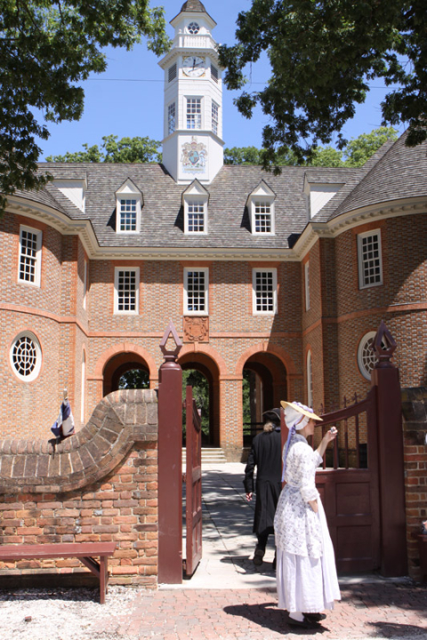 O Capitólio da Virgínia Colonial