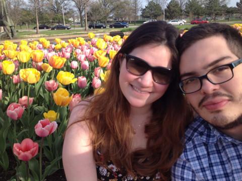 Aproveitando a primavera em St Louis