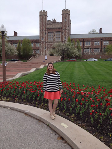 Visitando a Washington University
