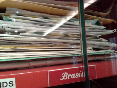 Cartas que vieram do Brasil