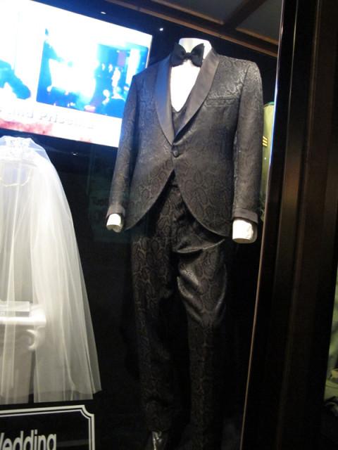 A roupa que Elvis usou no seu casamento com Priscilla