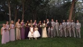 Um casamento texano