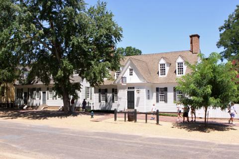 As casas históricas estão em seus lugares de origem