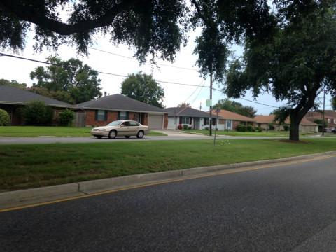 Casas em Metairie, cidade vizinha a New Orleans