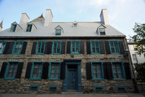 Uma casa tradicional, esse telhado também