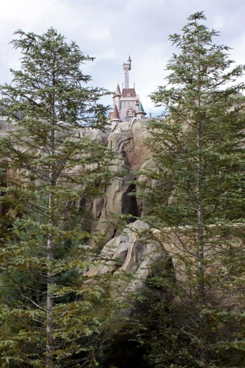 O Castelo da Fera na nova Fantasyland