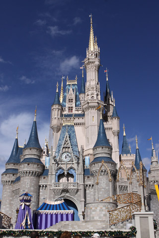 Castelo da Cinderela, símbolo do Magic Kingdom