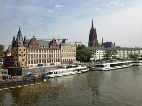 A Catedral e o Museu de História de Frankfurt