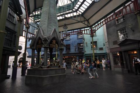 Carkitt Market em Diagon Alley