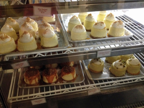 ...cheesecakes e tortinhas...