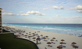 Chegando a Cancun