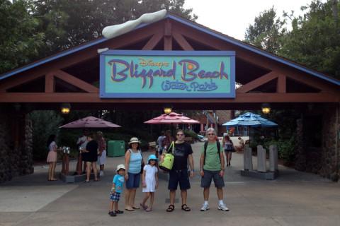 """Chegando no Blizzard Beach, o parque aquático """"com neve"""" da Disney"""
