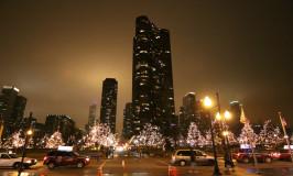 Chegando em Chicago