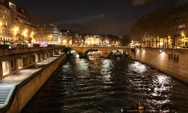 Chegando em Paris