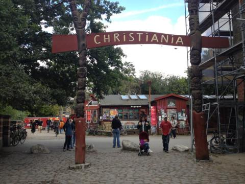 """Christiania, a """"cidade livre"""" - não gostei"""