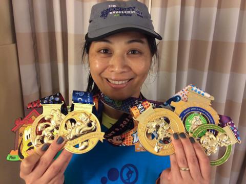 Mostrando todas as medalhas do Desafio do Dunga (Dopey Challenge). Parabéns, Cintia!