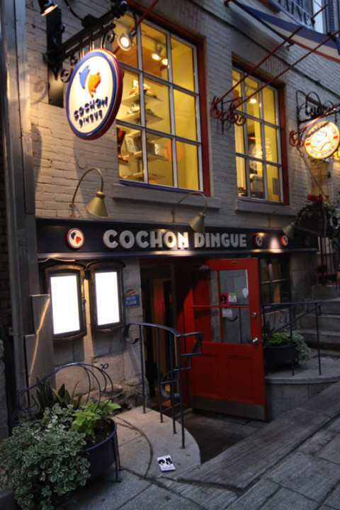 Le Cochon Dingue, também com reviews excelentes