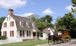 Colonial Williamsburg: museu vivo de história na Virginia