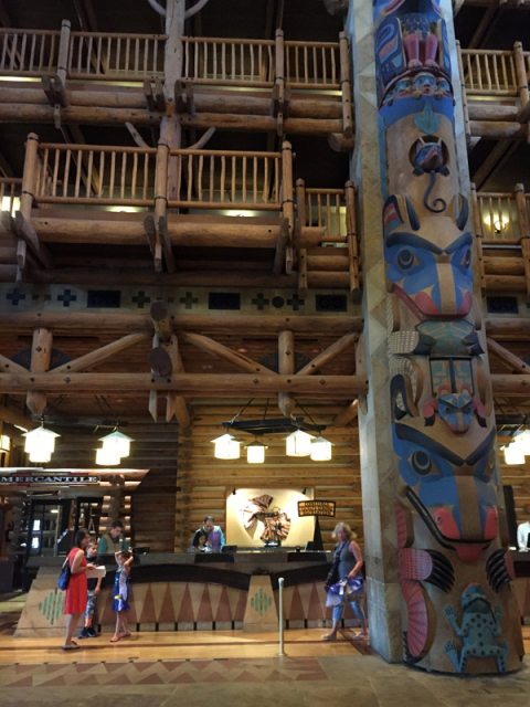 Concierge no Wilderness Lodge
