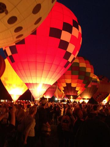 Corrida de balões em St Louis