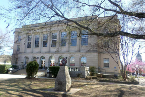 Courthouse em Clarksville, Arkansas