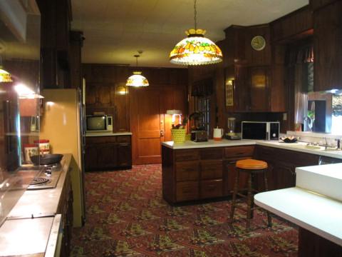 Cozinha em Graceland