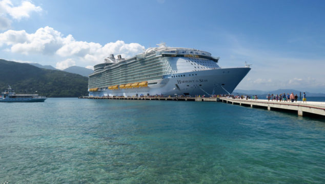 Cruzeiro no Harmony of the Seas pelo Caribe