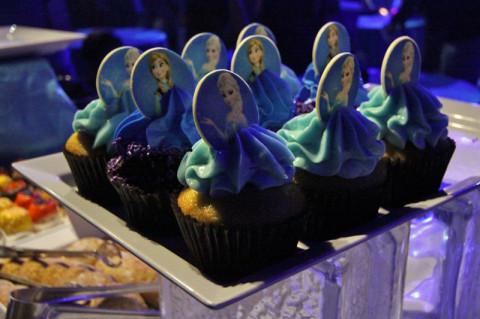 Cupcakes de Anna e Elsa