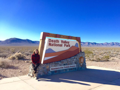 Parada no Death Valley National Park